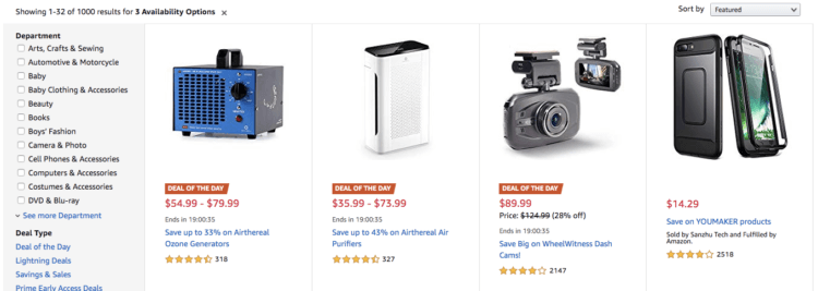 Amazon, deals, daily