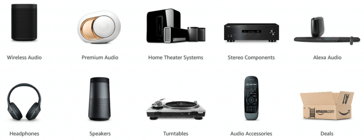 Amazon home audio