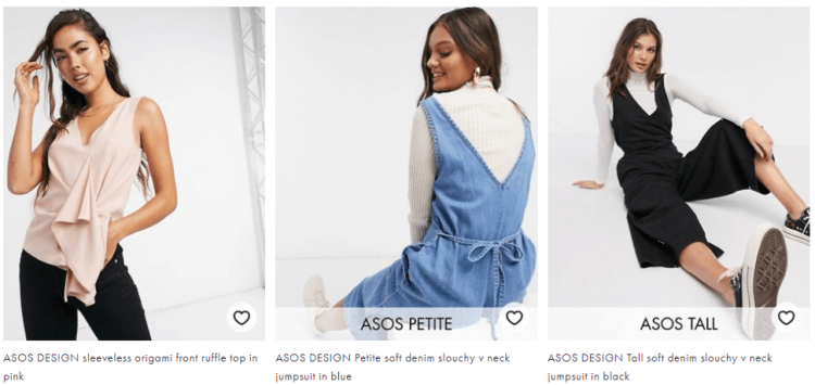 ASOS Inclusive Women's Clothing
