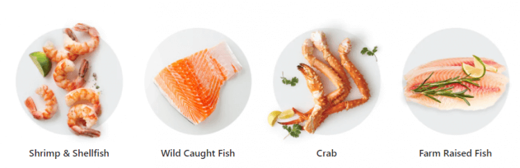 Fresh Seafood from Kroger