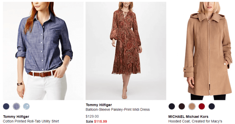Macy's Women's Clothing