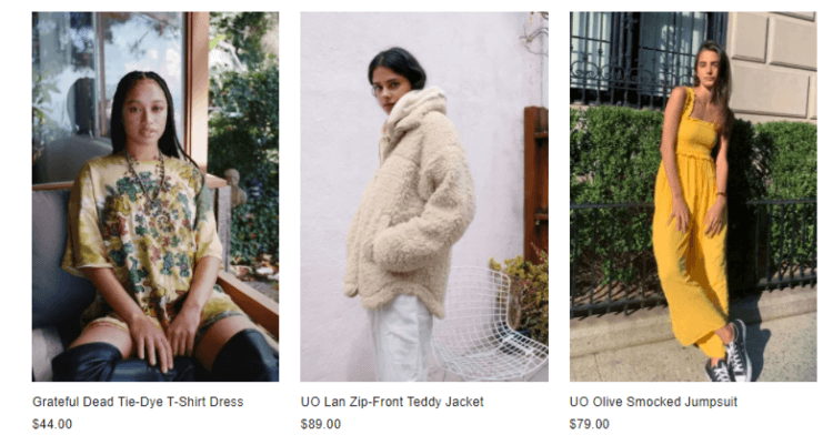 Urban Outfitters New Collection