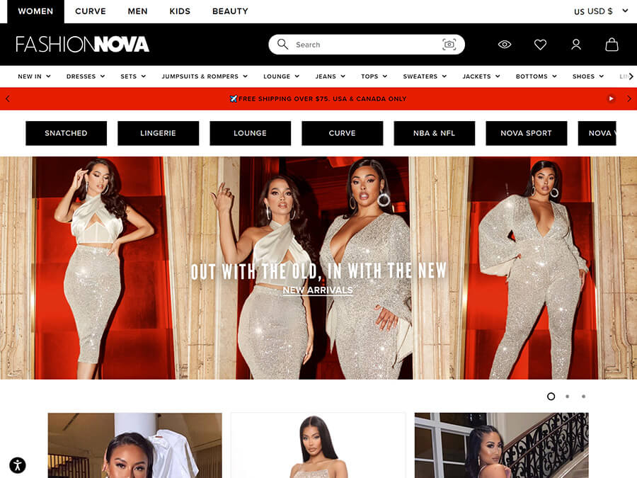 Fashion Nova screenshot