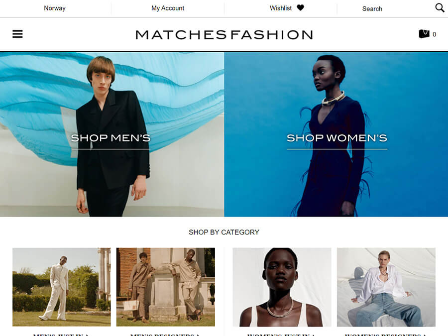 MatchesFashion screenshot