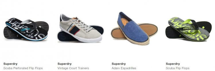 Superdry mens shoes