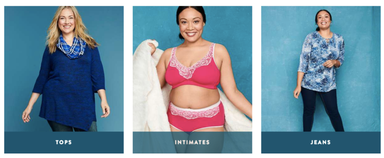 Tops, intimates, jeans, Catherines