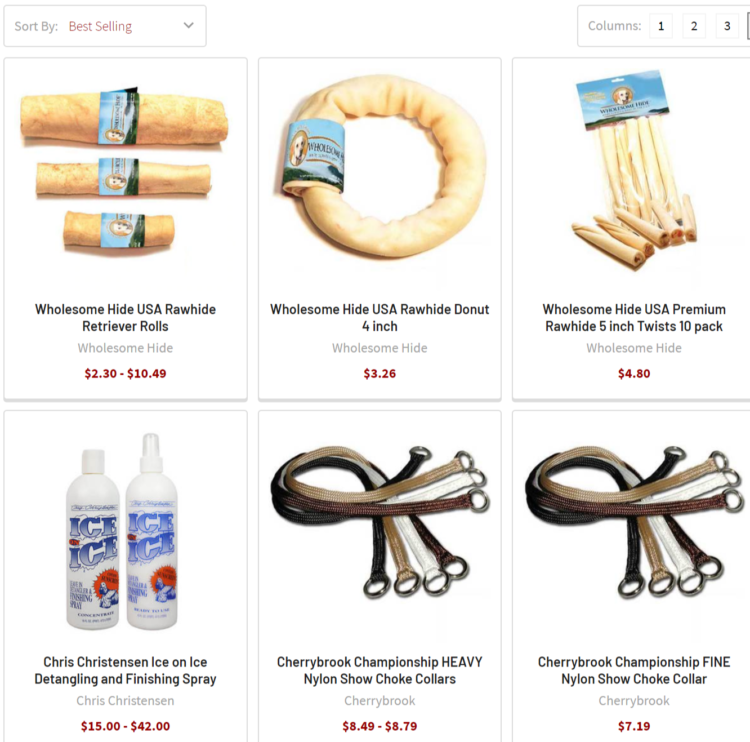 Cherrybrook best selling USA products