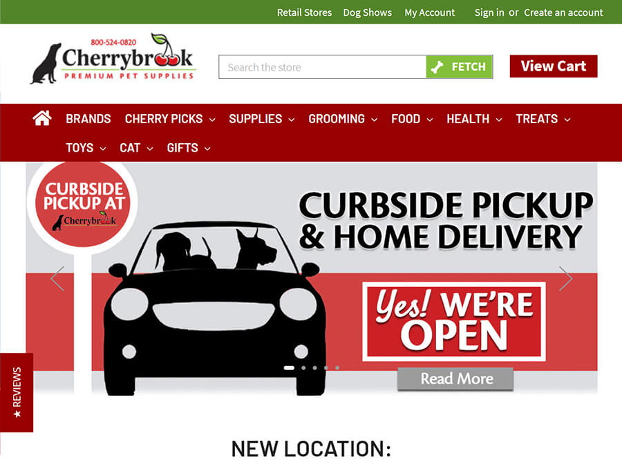 Cherrybrook screenshot