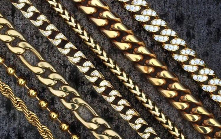 Frost NYC gold chains