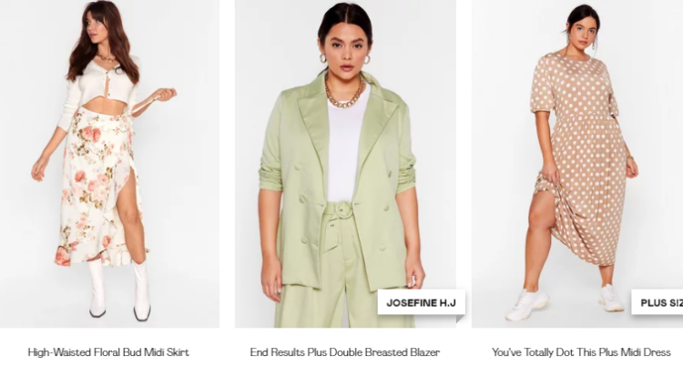 Now Trending spring essentials by Nasty Gal