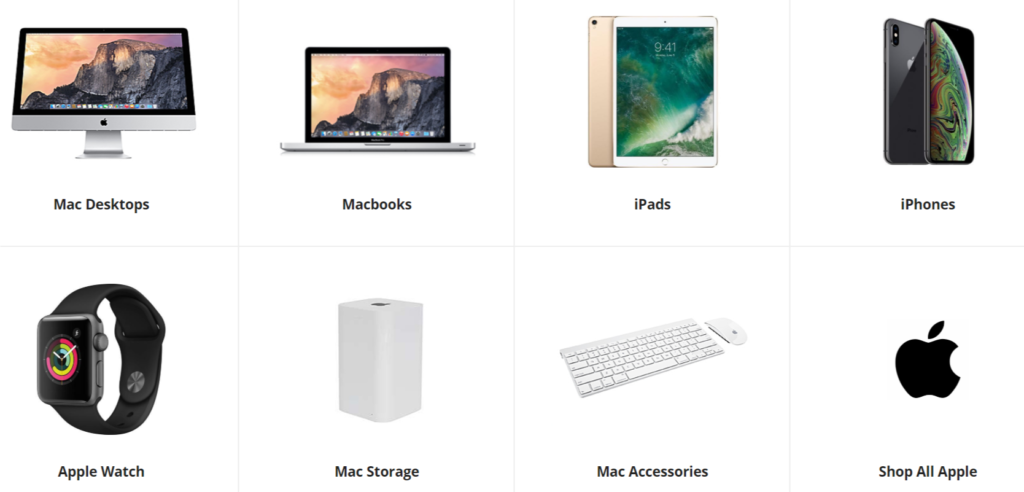 Newegg Apple products