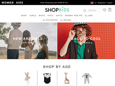 Shopkids screenshot