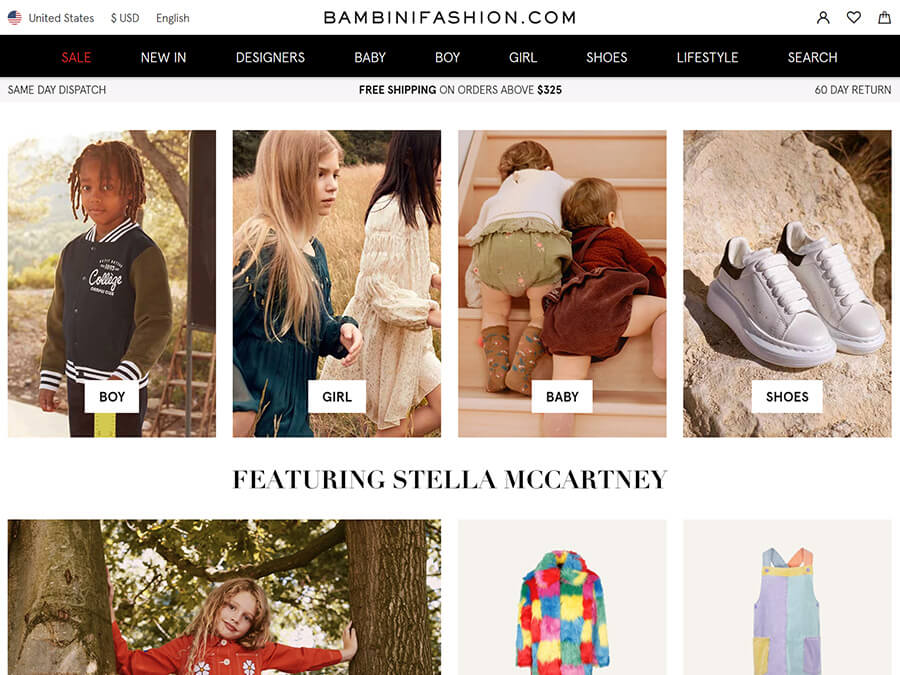Bambini Fashion screenshot