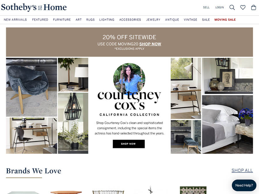 Sotheby's Home screenshot
